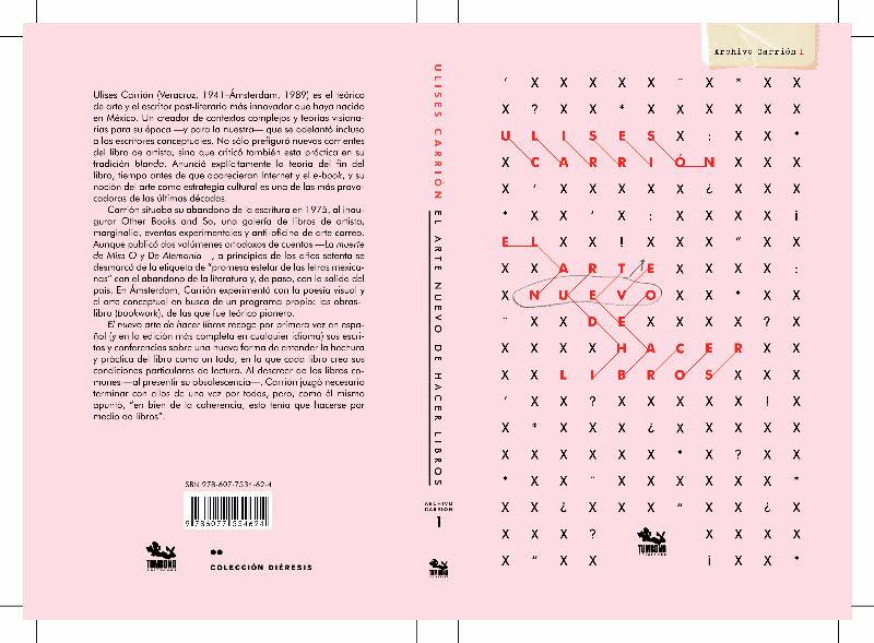 2da edicion de El arte nuevo de hacer libros